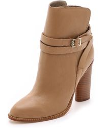 Cynthia Vincent - Hue Booties - Tan - Lyst