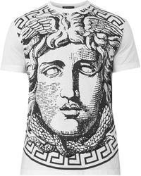 Versace Medusaprint Cotton Tshirt - Lyst