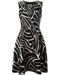 Issa Printed Flared Dress - Lyst