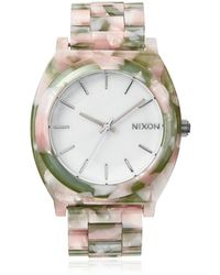 Nixon The Timeteller Acetate Watch - Lyst