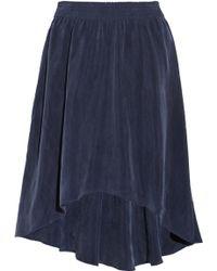 Enza Costa Washedvoile Skirt - Lyst