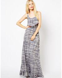 Sugarhill - Printed Maxi Dress - Lyst