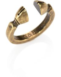Giles & Brother Sculpted Ring - Lyst