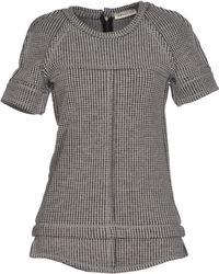 Isabel Marant Gray Sweater - Lyst