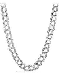 David Yurman Curb Chain Necklace - Lyst