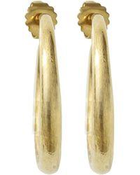 Vaubel - Single Wire Hoop Earrings - Lyst