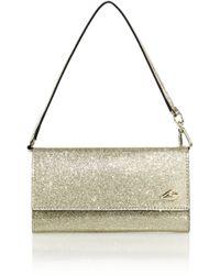 Diane von Furstenberg | Glittered Faux Leather Smartphone Wallet | Lyst