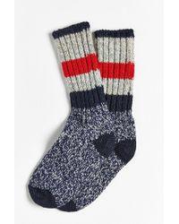 Woolrich - Full Stripe Crew Sock - Lyst