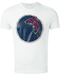 Ermanno Scervino Embroidered-Detail T-Shirt - Lyst