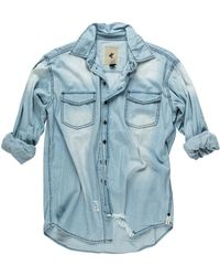 One Teaspoon Denim Shirt One Teaspoon Liberty Shirt
