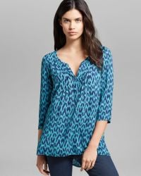 Plenty by Tracy Reese - Blouse Peasant Kurta - Lyst
