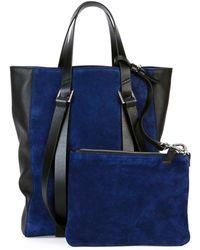 CoSTUME NATIONAL - Tokyo Suede Mini Shopper Tote Bag - Lyst