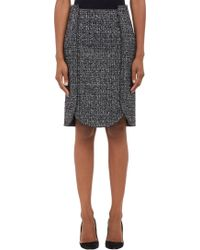 Proenza Schouler Tweed Curvedhem Pencil Skirt - Lyst