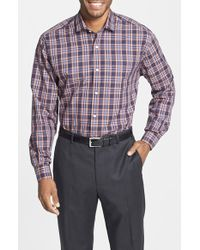 Cutter & Buck 'Fredrick' Classic Fit Plaid Twill Sport Shirt - Lyst