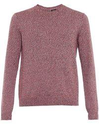 McQ by Alexander McQueen Bi-Colour Melange Sweater - Lyst