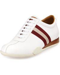 Bally Freenew Leather Sneaker - Lyst