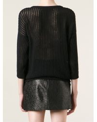 Maison Olga - 'Juanito' Embroidered Jumper - Lyst