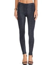Hudson Evelyn High Waist Skinny - Lyst