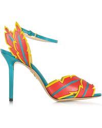 Charlotte Olympia Navajo Multicolor Leather Sandal - Lyst