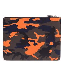 Givenchy Camouflage Leather Pouch - Lyst