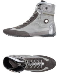 Tod's High-Tops & Trainers gray - Lyst