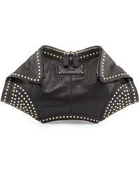 Alexander McQueen De-Manta Studded Clutch Bag - Lyst