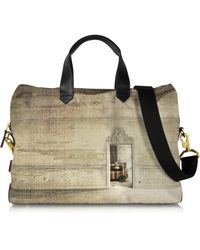Paul Smith | Mini Printed Canvas Men'S Messenger Bag | Lyst