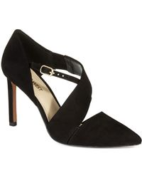 Nine West Chillice Strappy Heels - Lyst