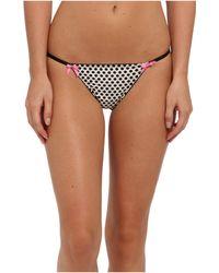 Betsey Johnson Pretty Pinup Microfiber Bikini - Lyst