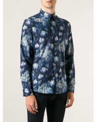 Paul Smith Floral All Over Printed Shirt - Lyst