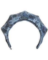Masterpeace | Koko Shnik Origami Silk-blend Headband | Lyst