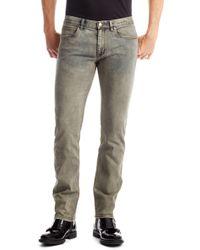 Hugo 708  Slim Fit 10 Oz Stretch Cotton Blend Jeans - Lyst
