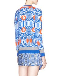 Helen Lee - 'mythic' Wool-cashmere Blend Knit Cardigan - Lyst