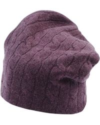 Ralph Lauren Purple Hat - Lyst