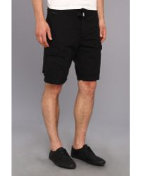 Diesel Black Pgerty Short - Lyst