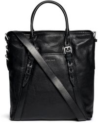 Cole Haan 'Truman North South' Leather Shopper - Lyst