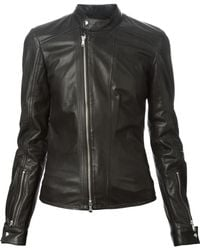 Diesel Black Gold Lesdyn Biker Jacket - Lyst