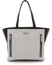 Elizabeth And James Perforated James Tote - Lyst