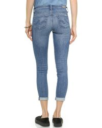 Ag Adriano Goldschmied The Stilt Roll Up Jeans - 16 Years-swap Meet - Lyst