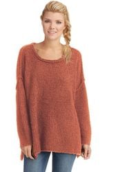 Free People Teddy Bear Pullover - Lyst
