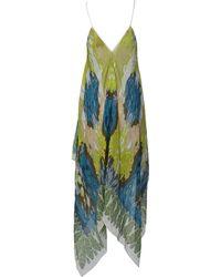 Theodora & Callum Scarf Dress - Lyst