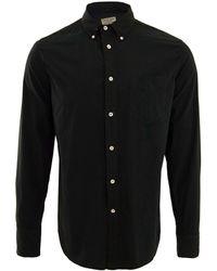 Rag & Bone Navy Standard Issue Button-Down Shirt - Lyst