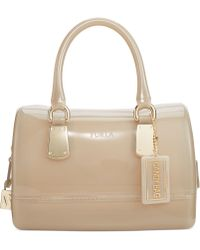 Furla Candy Mini Satchel with Hardware - Lyst
