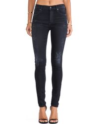 Citizens Of Humanity Rocket Skinny Jeans - Lyst