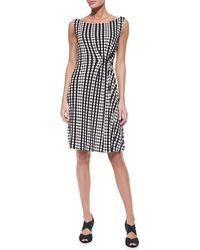 Tory Burch Liana Polka-dot Dress Blsh Chmpgn Mrpl X-small - Lyst