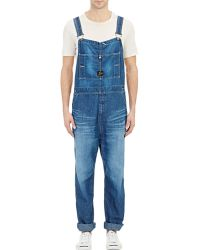 Needles Denim Overalls - Lyst