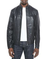 Theory Christo L Apoc Leather Jacket - Lyst