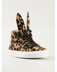 Minna Parikka 'Bunny' Leopard Print Sneakers - Lyst