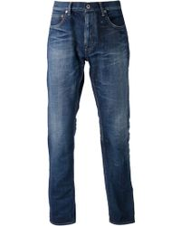 Fdmtl Blue Straight Jeans - Lyst