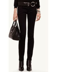 Ralph Lauren Black Label Stretch Cotton 105 Skinny Jean - Lyst